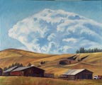 Sebastopol Farm Distant Cloud Thumbnail LL Sorensen